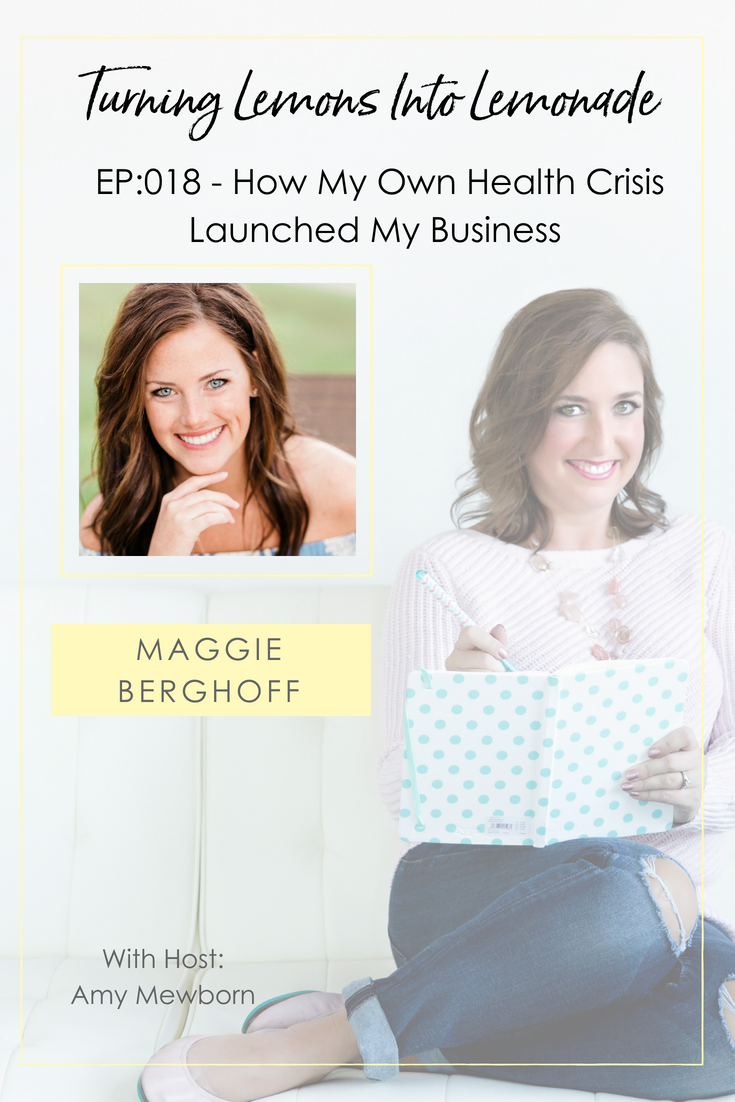 The Turning Lemons Into Lemonade Podcast with Amy Mewborn - Guest Maggie Berghoff