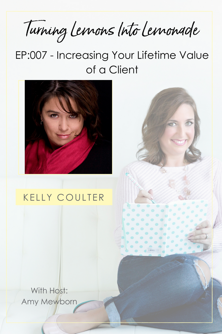 The Turning Lemons Into Lemonade Podcast with Amy Mewborn - Guest Kelly Coulter